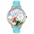 Easter Eggs Watch in Silver Unisex U 1220016