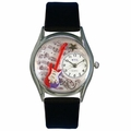 Electric Guitar Watch Classic Silver Style S 0510006