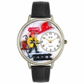 Firefighter Watch in Silver Unisex U 0610027