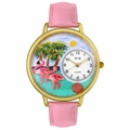 Flamingo Watch in Gold or Silver Unisex G 0150001
