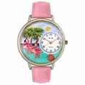 Flamingo Watch in Silver Unisex U 0150001