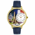 France Watch in Gold or Silver Unisex G 1420006