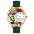 Frogs Watch in Gold or Silver Unisex G 0140001