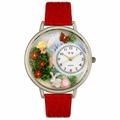 Garden Fairy Watch in Silver Unisex U 1210010