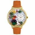 Gardening Watch in Gold or Silver Unisex G 1210008