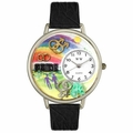 Gay Pride Watch in Gold or Silver Unisex U 1110009