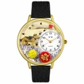 German Shepherd Watch in Gold or Silver Unisex G 0130040