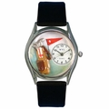 Golf Bag Watch Classic Silver Style S 0820010