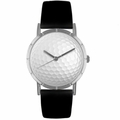 Golf Lover Print Watch Classic Silver Style R 0840009