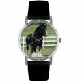 Gypsy Vanner Horse Print Watch in Silver Classic R 0110026
