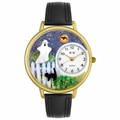 Halloween Ghost Watch in Gold or Silver Unisex G 1220032