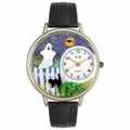 Halloween Ghost Watch in Silver Unisex U 1220032