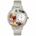 Holiday Feast Watch in Gold or Silver Unisex U 1220037
