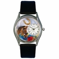 Horse Head Watch Classic Silver Style S 0110007