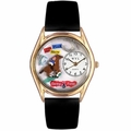 Horse Racing Watch Classic Gold Style C 0810007