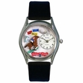 Horse Racing Watch Classic Silver Style S 0810007