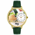 Italy Watch in Gold or Silver Unisex G 1420005