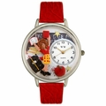 Kindergarten Teacher Watch in Silver Unisex U 0640002