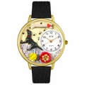 Labrador Retriever Watch in Gold or Silver Unisex G 0130011
