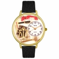 Lawyer Watch in Gold or Silver Unisex G 0610001