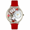 Love Story Watch in Silver Unisex U 0460003