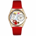 Math Teacher Watch Classic Gold Style C 0640011