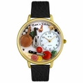 Moms Kitchen Watch in Gold or Silver Unisex G 1010004