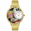 Movie Lover Watch in Gold Unisex G 0420013