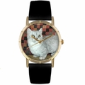 Munchkin Cat Print Watch in Gold Classic P 0120047