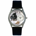 Music Piano Watch Classic Silver Style S 0510001