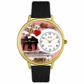 Music Teacher Watch in Gold or Silver Unisex G 0510001