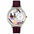 Nail Tech Watch in Silver Unisex U 0630005