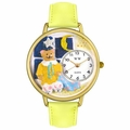 Night Night Teddy Bear Watch in Gold or Silver Unisex G 0230006