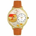 Noahs Ark Watch in Gold or Silver Unisex G 0710006