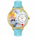 Nurse Angel Watch in Gold or Silver Unisex G 0620030