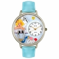 Nurse Angel Watch in Silver Unisex U 0620030