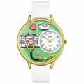 Nurse Green Watch in Gold or Silver Unisex G 0620041