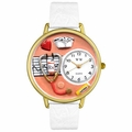 Nurse Orange Watch in Gold or Silver Unisex G 0620043