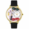 Opthamologist Watch in Gold or Silver Unisex G 0620003
