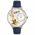Order of the Eastern Star Watch in Silver Unisex U 0710010