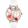 P.E. Teacher Watch in Silver Unisex U 0630017