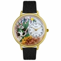 Panda Bear Watch in Gold or Silver Unisex G 0150017