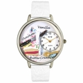 Pastries Watch in Silver Unisex U 0310012