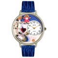 Pediatrician Watch in Silver Unisex U 0620006