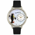 Penguin Watch in Silver Unisex U 0140006
