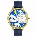 Polar Bear Watch in Gold or Silver Unisex G 0150002