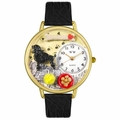 Poodle Watch in Gold or Silver Unisex G 0130059