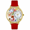 Preschool Teacher Watch in Gold or Silver Unisex G 0640003