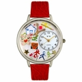 Preschool Teacher Watch in Silver Unisex U 0640003