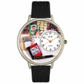 Psychiatrist Watch in Silver Unisex U 0610010